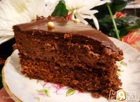 Трюфельный торт Рецепт с пошаговыми фотографиями Нямру