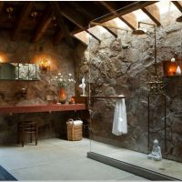 42 Rustic Bathroom Ideas For a Warm And Relaxing Private Space