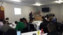 A colleague teaching during NLTC