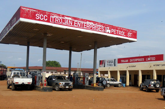 Vehicles seen at a petrol station in Juba, South Sudan, amid high gas prices that has forced many residents to sell or park their cars(Photo: file)