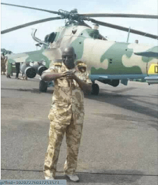 SPLA-IG Chief of Staff, Gen. Paul Malong Awan, timely dispatching his military gunships to unknown location(Photo: file)