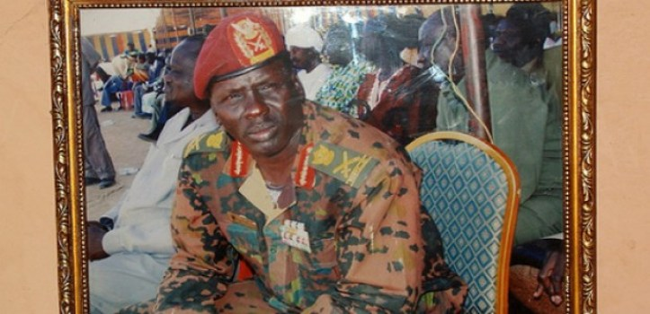 Lt. Gen. Peter Gatdet Yak, former deputy Chief of Staff for SPLM/A-IO(photo: file)