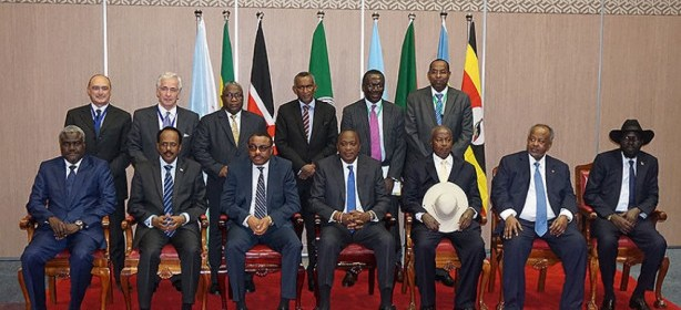 IGAD leaders during their last meeting in Nairobi, Kenya, March 2017(Photo: file)