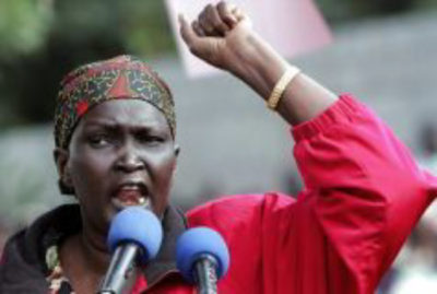 Rebecca Garang Declined Her Appointment in Kiir's National Dialogue