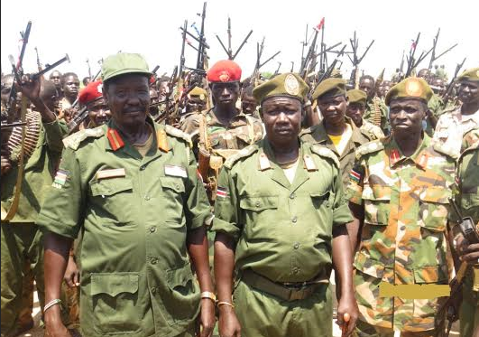 Maj. Gen. Mabieh Ghar, the Overall Commander of SPLA-IO Division 8 in Yei River State(Photo: file)