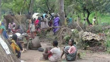 South Sudanese running away from government atrocities putting up in the forest for safety(Photo: file)