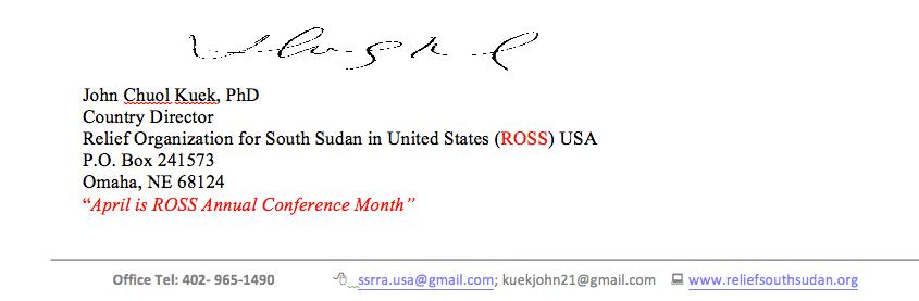 ross-signature