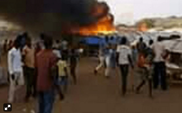 Government militia burning civilians homes in South Sudan's Wau town(Photo: file)