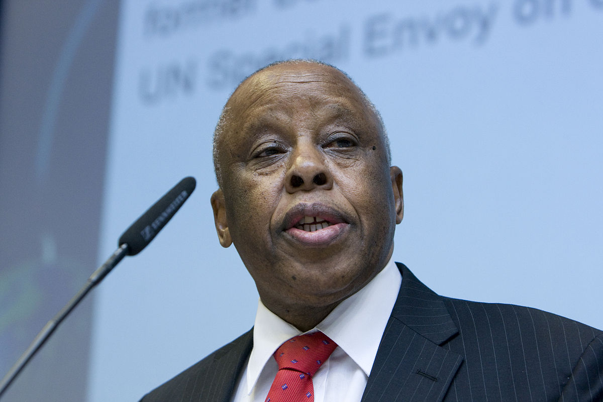H.E. Festus Mogae, the former Botswana President and the Chairman of JMEC calls for a High Level Revitalization Forum to resuscitate the peace agreement(Photo: file)