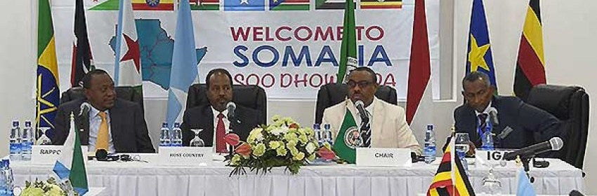 IGAD leaders during the 28th Extra Ordinary Summit in Addis Ababa(Photo: file)