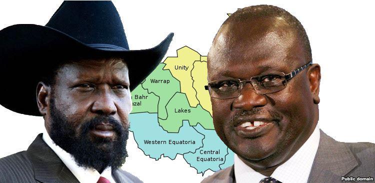 Salva Kiir Mayardit and Dr. Riek Machar Teny(Photo: file)