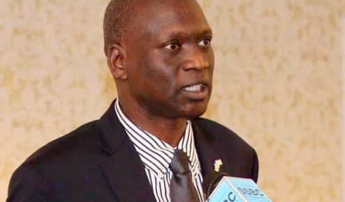 South Sudan Ambassador to the United States, Amb. Garang Diing Akuong, who is reported stuck in Juba as his staffs go unpaid for eight months(Photo: file)