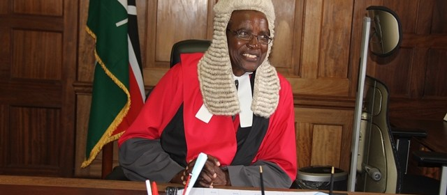 DAVID KENANI MARAGA, CHIEF JUSTICE/PRESIDENT OF THE SUPREME COURT OF KENYA(Photo: file)