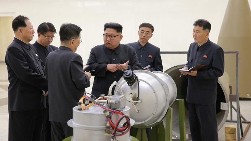 North Korea leader, Kim Jong Un....