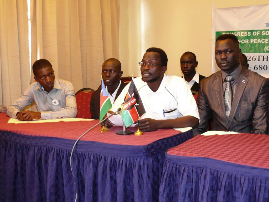 Dak Buoth and other members of CONGRESS OF SOUTH SUDAN PATRIOTS FOR PEACE AND RECONCILIATION...