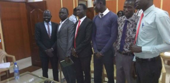 Executives of the Nuer Students Union in Kenya posting for a picture after their meeting in Nairobi, Kenya(Photo: file)