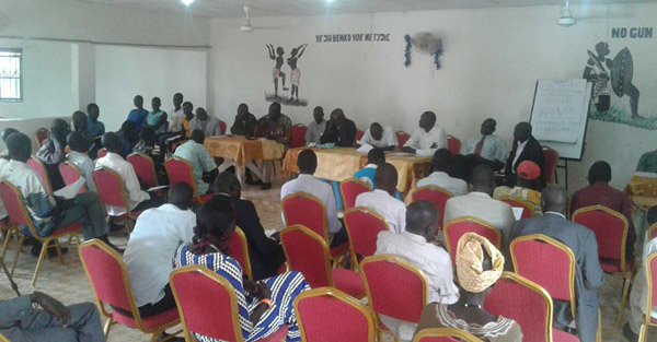 Rumbek intellectuals hold a  pre-conference dialogue to try to solve communities rivalries in Rumbek(Photo: file)