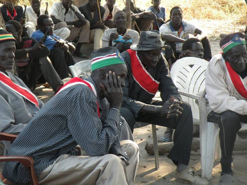 The Paramount Chiefs of Ayod County during a meeting in Ayod county(Photo: file)