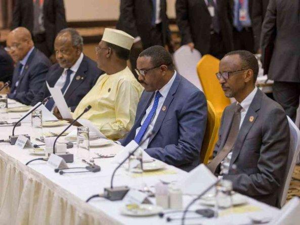 IGAD leaders holding peace talks on South Sudan in Addis Ababa, Ethiopia(Photo: file)