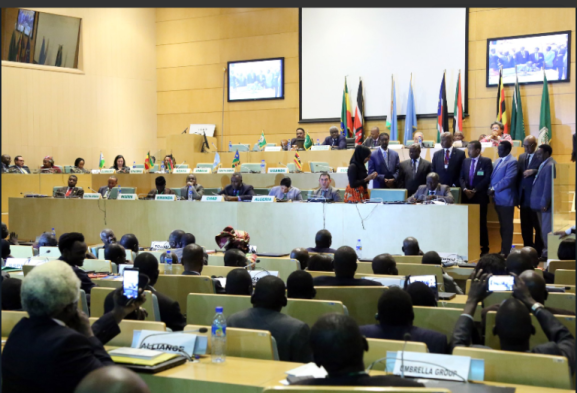 South Sudan stakeholders at the High level revitalization forum in Addis Ababa, Ethiopia(Photo: file)