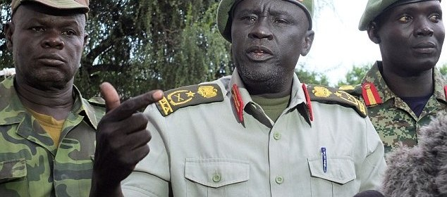 Lt. Gen. Dau Atorjong a former commander of SPLM/A(IO) whose deputy, Maj. Gen. Achuil Lual Achuil, allegedly defects to SPLM/A(IO)(Photo: file)