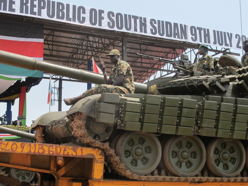 South Sudan government buys tanks and missiles every year only to use them on their own people. Now U.S. has decided to lead arms embargo on South Sudan to safeguard South Sudanese interests and reduce follow of weapons into South Sudan(Photo: file)