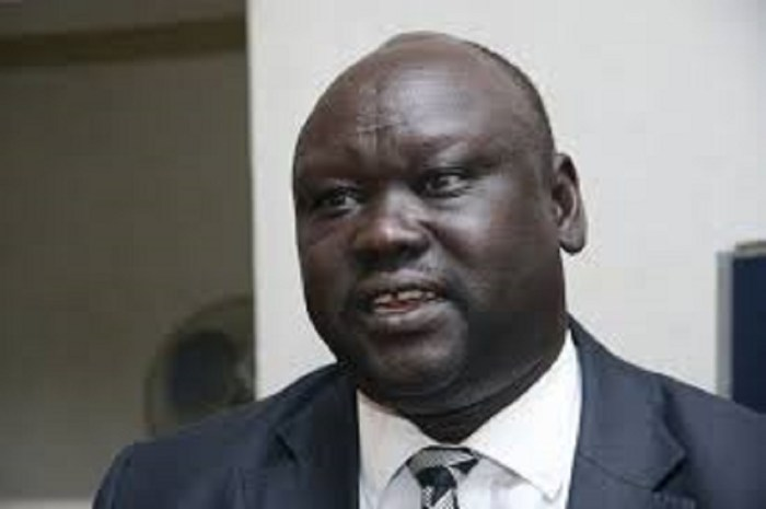 Stephen Par Kuol, former South Sudan deputy foreign mission to Tanzania, former Minister of education and current SPLM/A(IO) secretary for Foreign Affairs(Photo: file/supplied/Nyamilepedia)