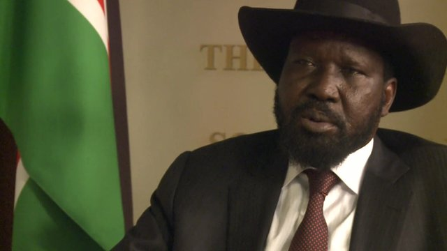 South Sudan president, Salva Kiir, could be mentally and physically ill to lead the country, according to his medical doctor(Photo: file)