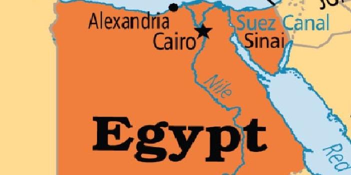Egypt map (File photo)