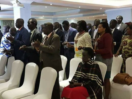South Sudan's stakeholders in tears praying for God to intervene to end South Sudan crises(Photo: file/supplied/Nyamilepedia)
