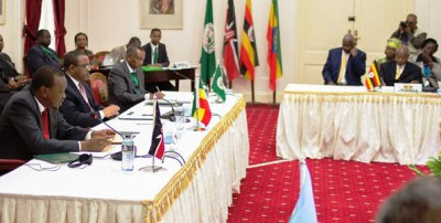 Leaders of the Intergovernmental   Authority on Development (IGAD) (File photo)