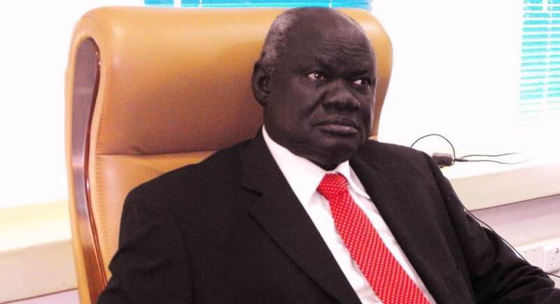 Gabriel Changson Lew Chang,  Chairman of the FDP and the South Sudan Opposition Alliance (File Photo)