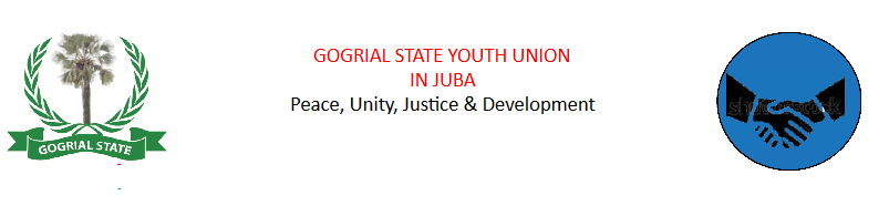 Gogrial State Youth Union Logo (File photo)