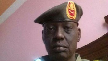 SPLM-IO Governor of Sobat State Maj. Gen. Banak Riang Lual (File Photo)