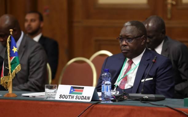 South Sudan''s Cabinet Minister Dr. Martin Elia Lomoro (File photo)