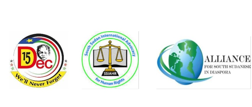 Logo for South Sudanese civil society in the United States (File photo)