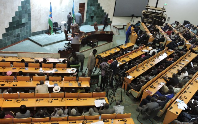 Parliament in a session - Nov 18, 2015 (Photo credit: Joakino Francis for the Eye Radio)