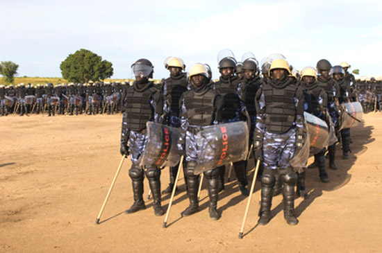 South Sudan police forces (File photo)