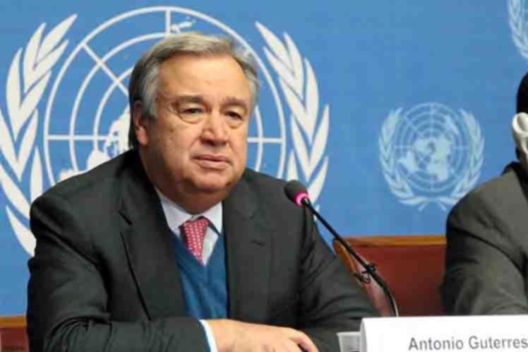 UN Secretary-General (file photo)