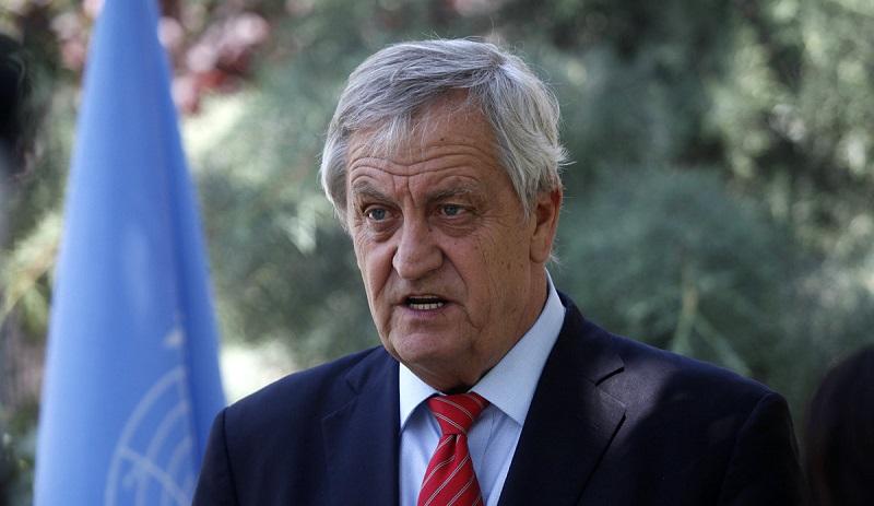 UN-Secretary General's Special Envoy for Sudan and South Sudan Nicolas Haysom (File photo)