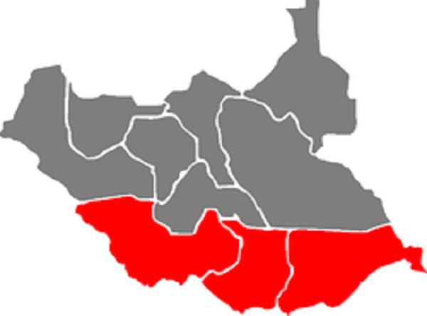 The greater Equatoria region (File photo)