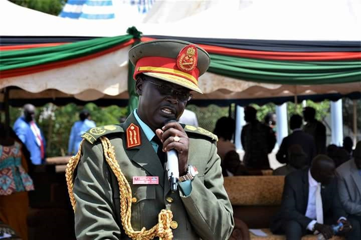 South Sudan's Army Chief Gen. Michael Jok Riak (File photo)