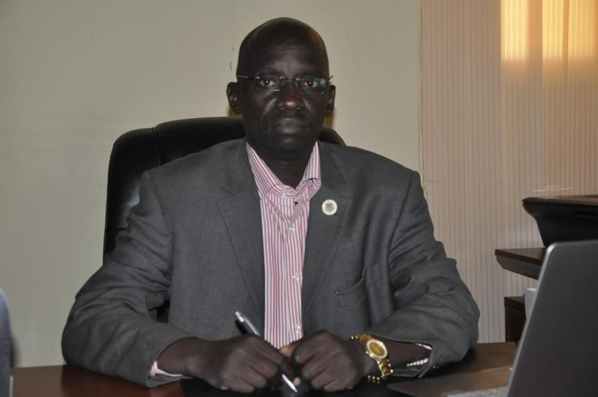 Maj. Gen. Julius Tabuley, the newly self-imposed chairman and commander-in-chief of the National Salva Kiir Front(Photo: profile/supplied/Nyamilepedia)