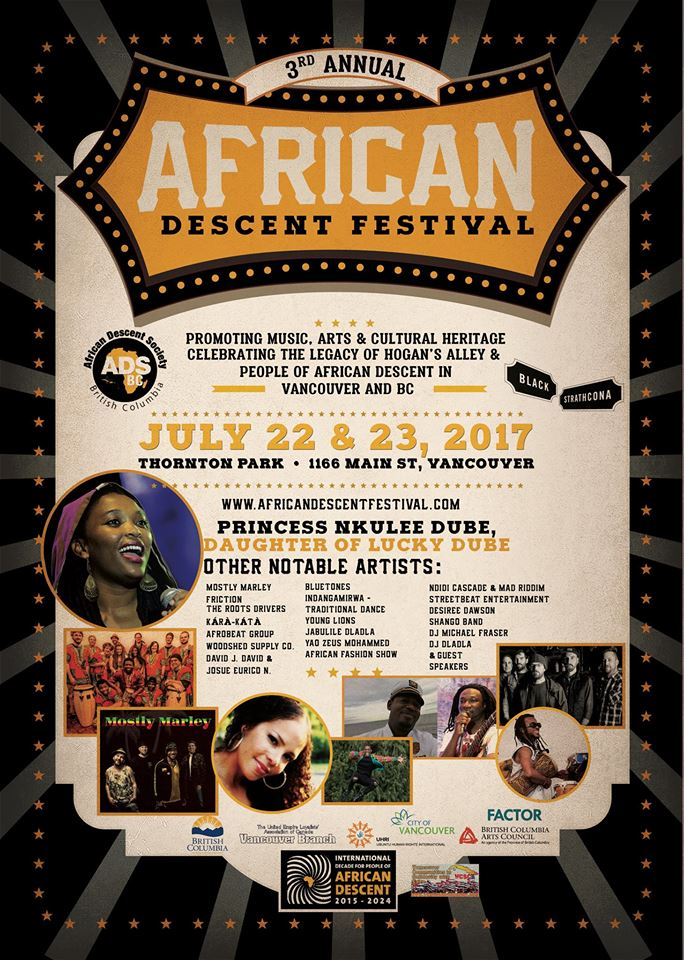 PRINCESS NKULEE DUBE TOUR,  The African Descent festival