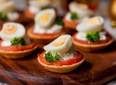 Тарталетки с апельсином и курицей — рецепт с фото пошагово