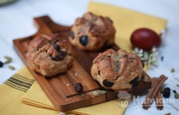 Сладкие булочки по-английски — рецепт с фото пошагово