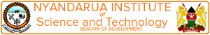Nyandarua Institute of Science and Technology Logo Big