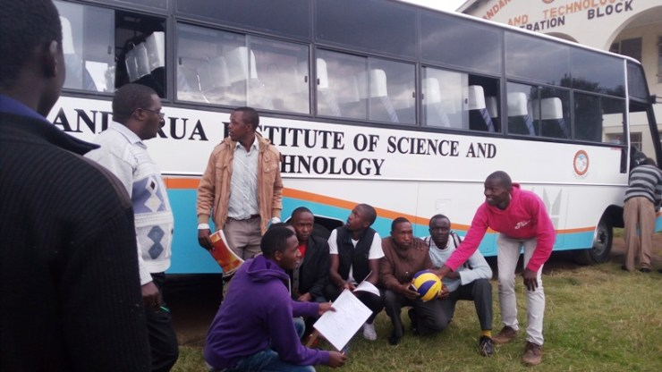 A New 51 Seater Bus for Nyandarua Institute of Science and Technology
