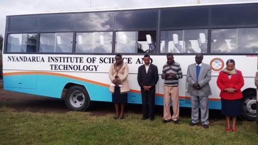 New 51 seater Bus for Nyandarua Institute