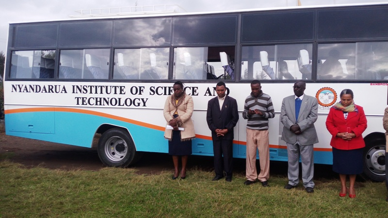New 51 seater Bus for Nyandarua Institute